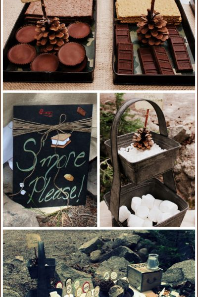 Real Party: S'mores Camp Out