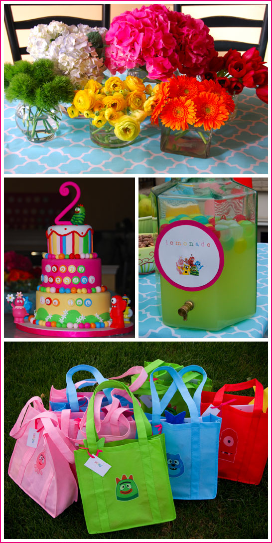 Outstanding Real Party Yo Gabba Gabba The Cake Blog Funny Birthday Cards Online Overcheapnameinfo