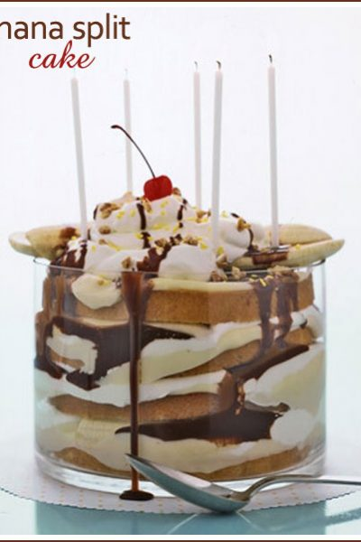 Fab Find: Banana Split Cake