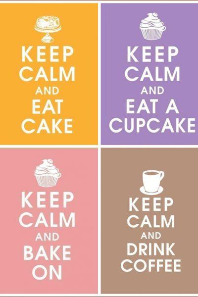 Fab Find: Vintage Cake & Cupcake Posters