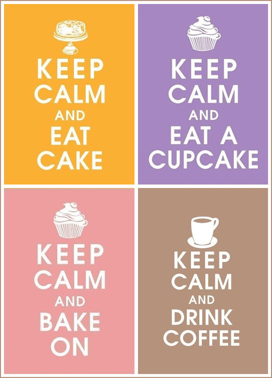 Vintage Cake & Cupcake Posters