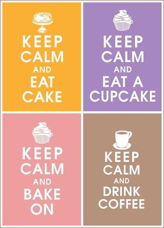 Vintage Cake & Cupcake Posters