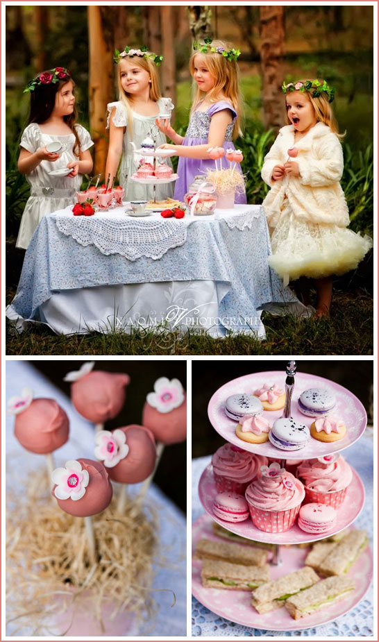 Enchanted Forest Tea Party