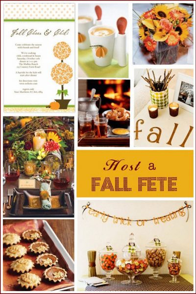 Guest Post: Enjoy Friends With A Fall Fete