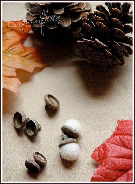 DIY Felt Acorns Tutorial