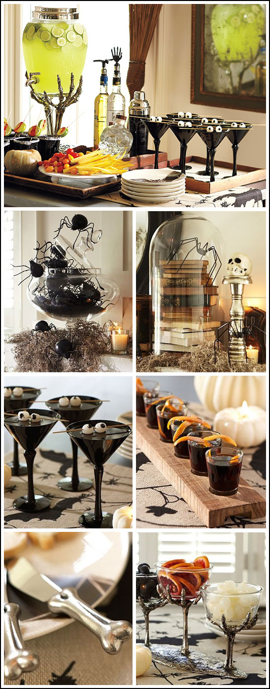 Adult Halloween Cocktail Party Inspiration