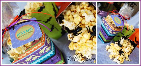 Halloween Popcorn Favors