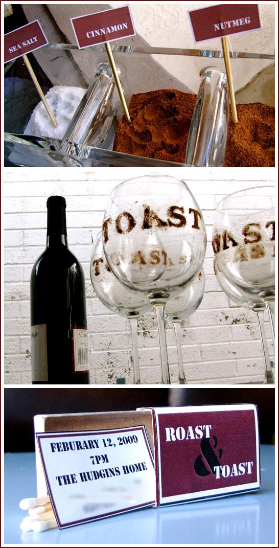 Toast & Roast Party