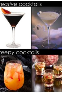 Creepy Halloween Cocktails
