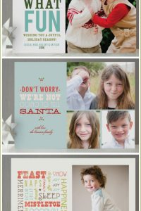 Giveaway: Minted Holiday Cards