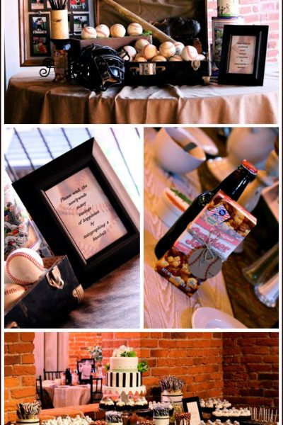 Real Party: Vintage Baseball Wedding