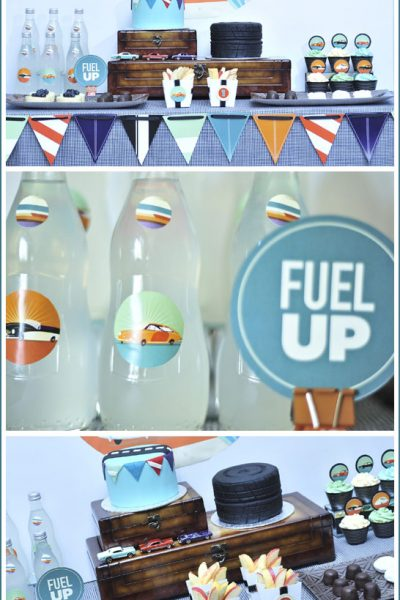Real Party: Vintage Car Birthday