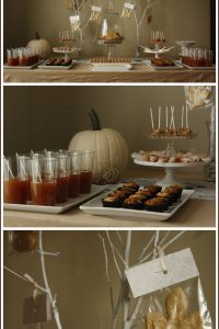 Autumn Dessert Table