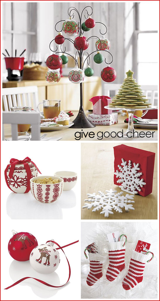crate and barrel giveaway 2010 - Crate And Barrel Christmas Decorations