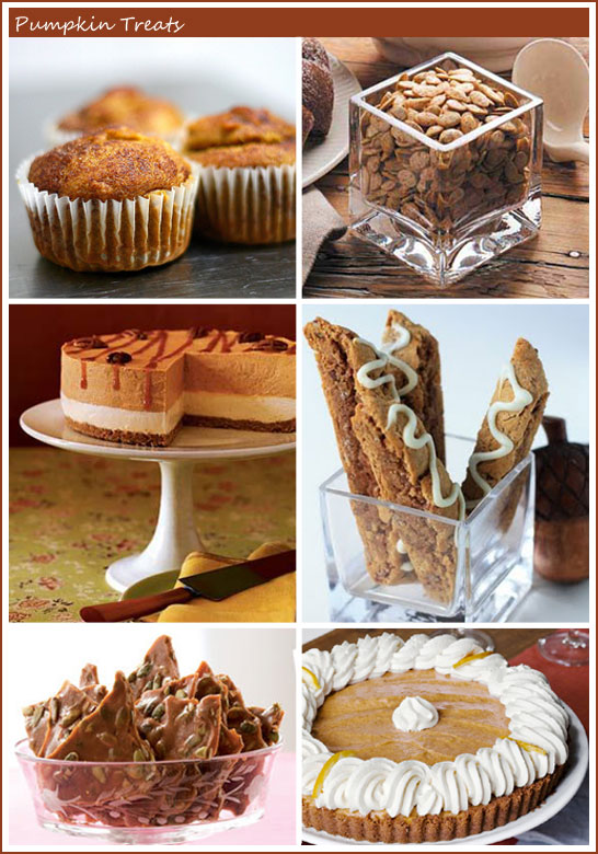 Pumpking Treat Recipes