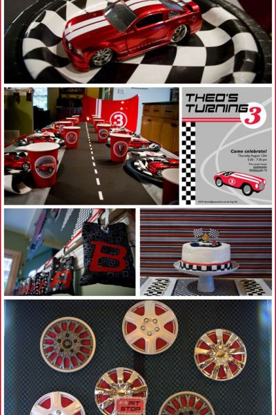 Real Party: Race Car Birthday