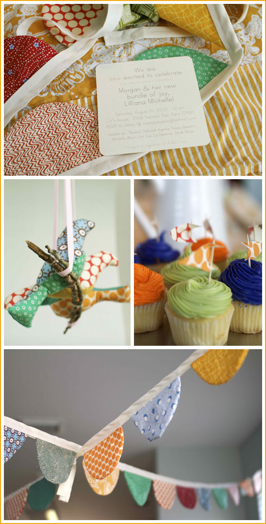 Sewing Themed Baby Shower