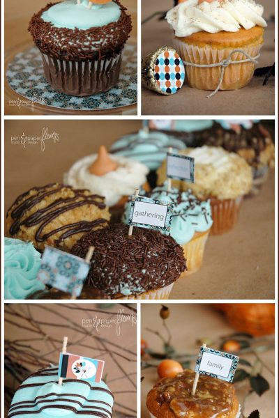 Fab Find: Thanksgiving Cupcake Toppers (& Giveaway!)