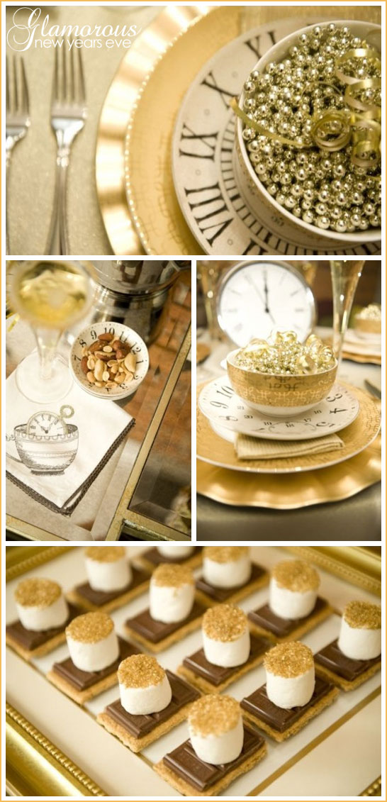 Glamorous New Years Eve Party in Gold