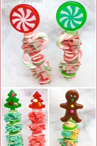 Holiday Sweet Skewers by Sweets Indeed