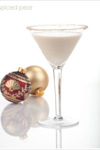 Spiced Pear Martini  |  TheCakeBlog.com