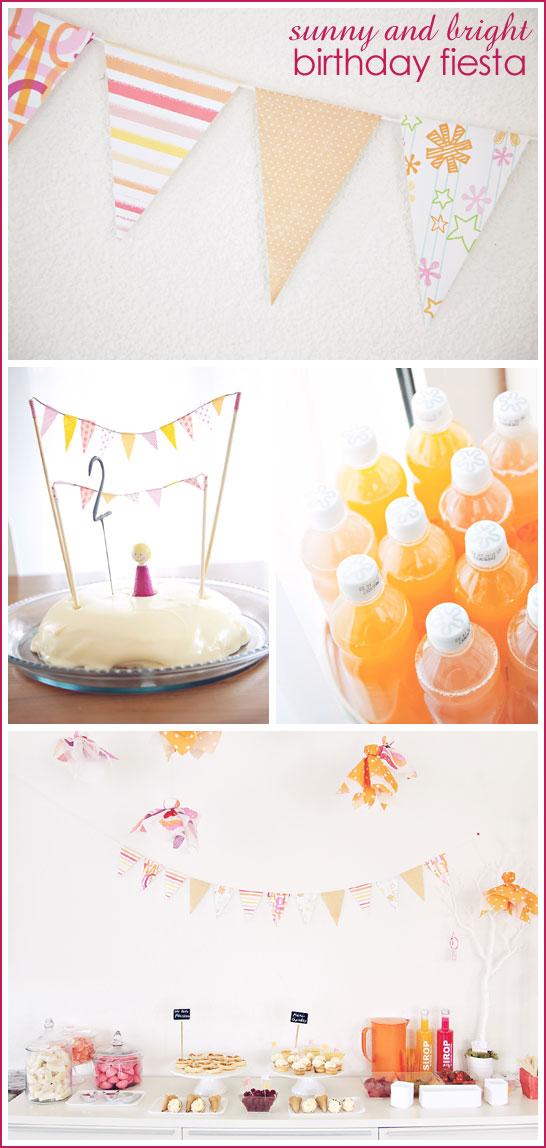 Sunny & Bright Birthday Fiesta