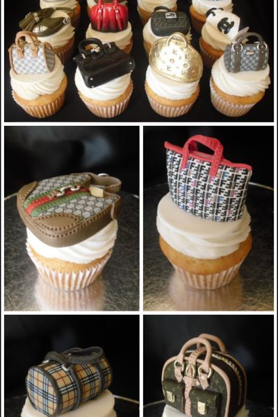 Sweet Treat: Designer Handbag Cupcakes