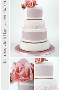 Romantic Bridal Cake by Flour Confections