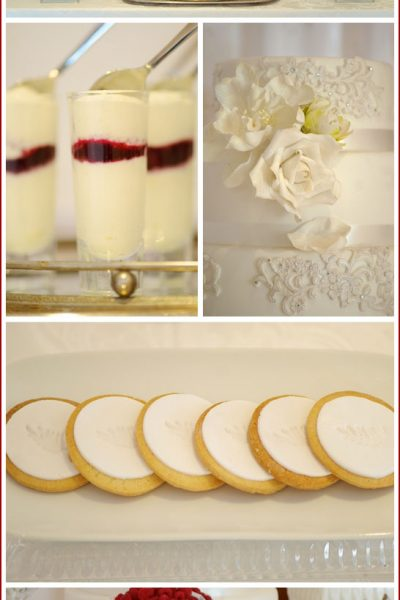 Real Party: Romantic White Dessert Bar