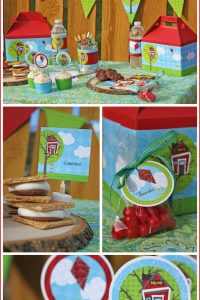 Tree House Birthday Collection by Celebration Shoppe