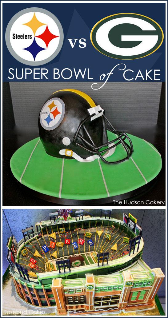 Super Bowl Cakes