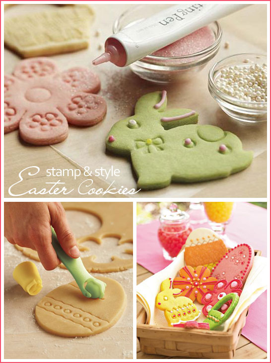 Stamp & Style Easter Cookies