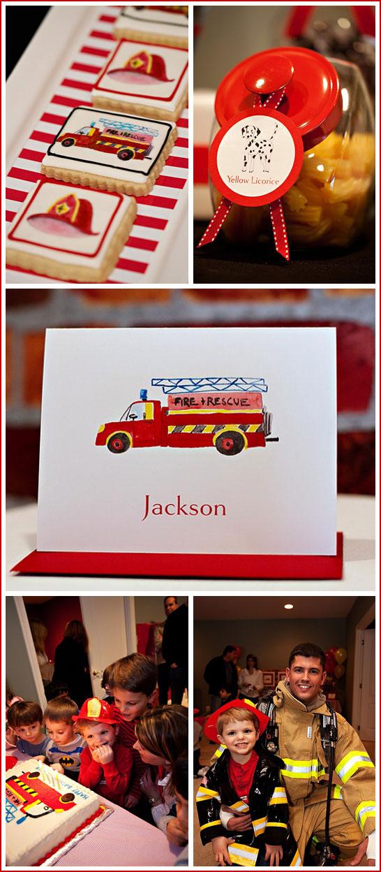 Firetruck Birthday