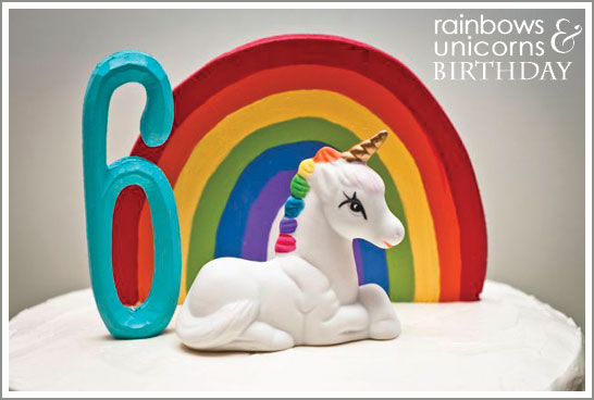Rainbows and Unicorns Birthday