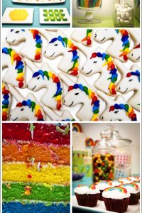 Rainbows and Unicorns Birthday Party
