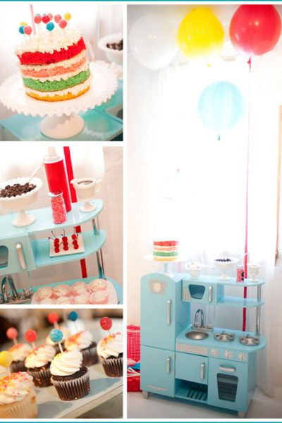 Real Party: Cake & Ice Cream Birthday
