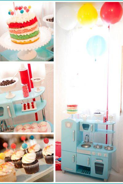 Real Party: Cake & Ice Cream Birthday