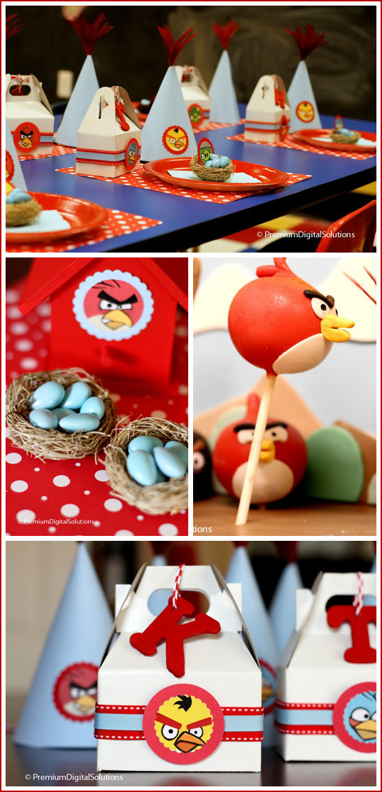 Angry birds birthday party for Angry birds party decoration ideas