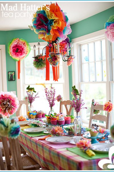 Real Party: Mad Hatter's Tea Party