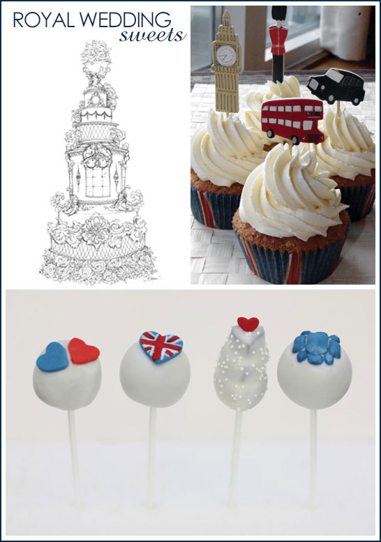 Royal Wedding Sweets & Desserts