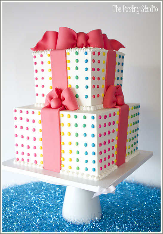 Candy Button Cake