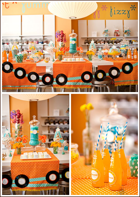 Retro Candy Shop Party
