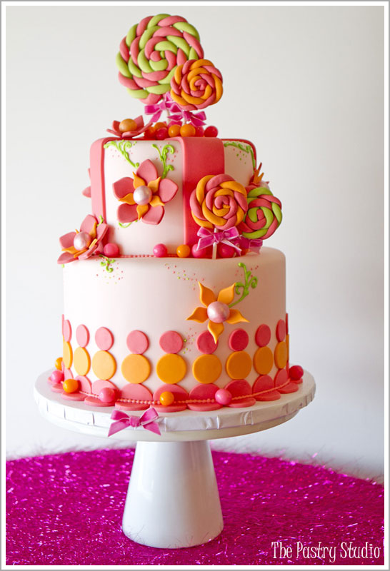 Lollipop & Gumball Cake by The Pastry Studio