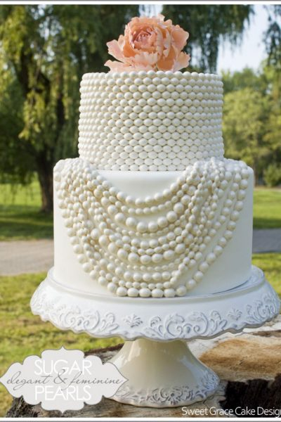 Coco Chanel Pearl Cakes
