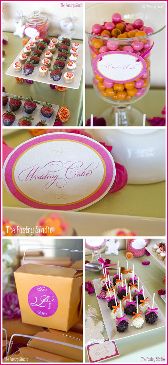 Pink & Orange Beachside Wedding