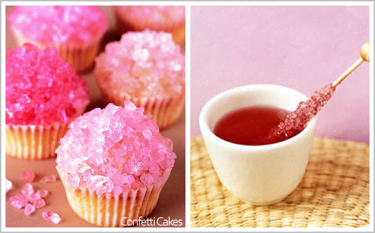 Rock Candy Cupcakes by Elisa Strauss