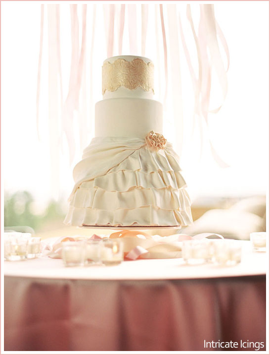 Ballerina Inspired Cake by Intricate Icings