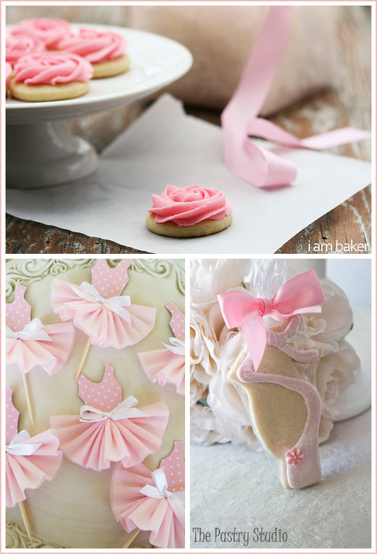 Ballerina Cookies by The Pastry Studio and I Am Baker