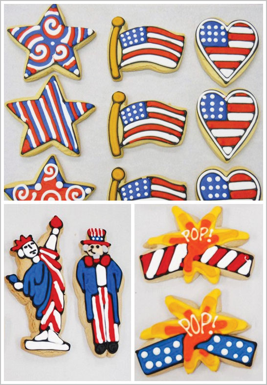 4th of July Cookies by Bundle of Cookies