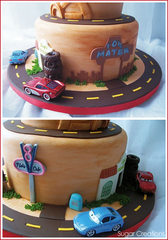 Disney Cars Cake by Sugar Creations